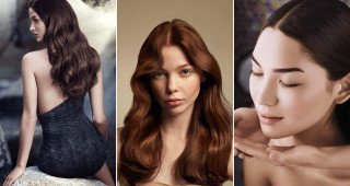 Aveda hair colours