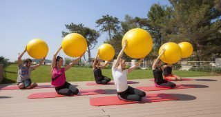 Vitality Hotel Punta outdoor exercises