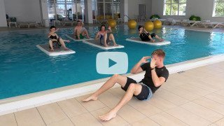 FloatFit fitness programme at the Vitality Hotel Punta