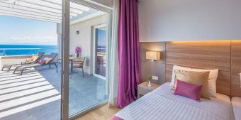 Suite with seaview at Vitality Hotel Punta