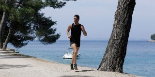 Jogging on Lošinj Island