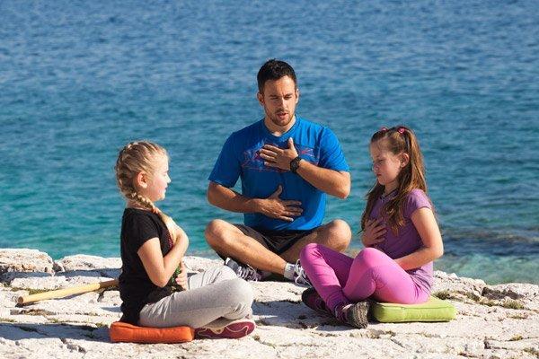 Kleine Atemschule auf der Insel Lošinj