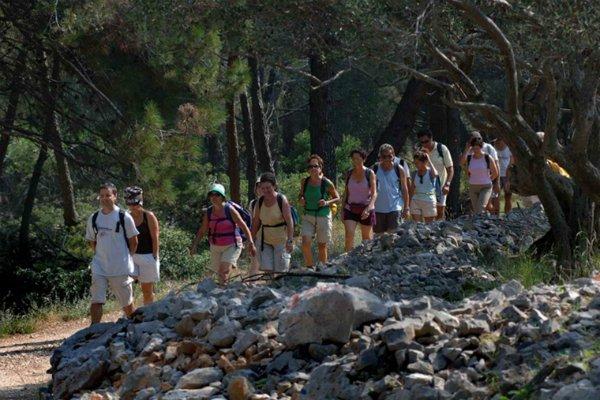 Trekking sull'isola di Lussino